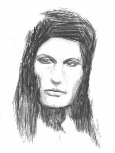 Female Face Tilted part 2