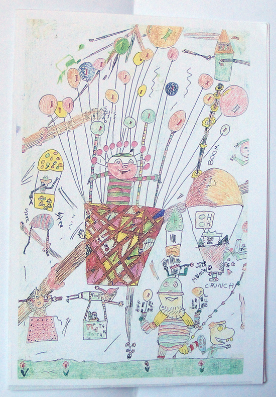 Davy's Childhood Drawing