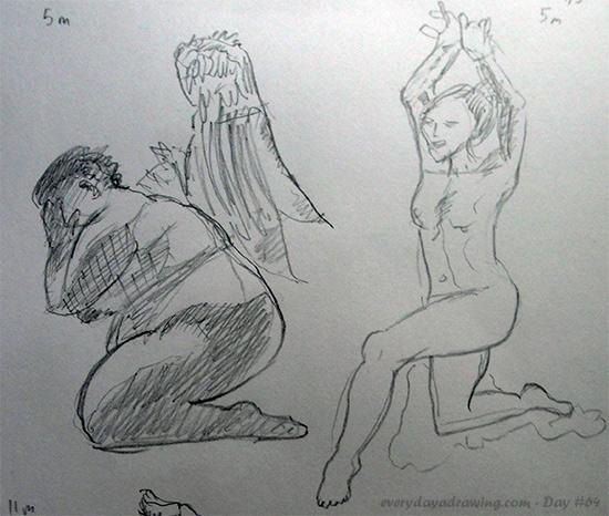 5 minute figure drawings