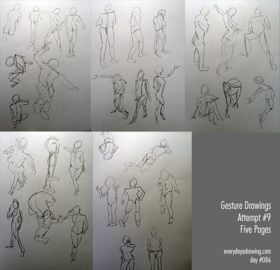 How to do gesture drawings