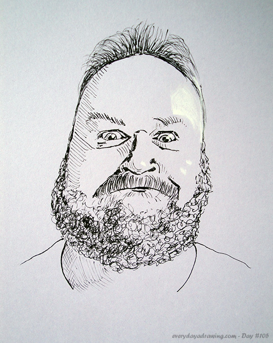 Drawing of bryguy49 on Reddit