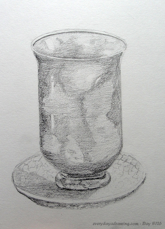Drawing of a Candle Holder