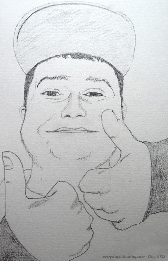 Drawing of Reddit user BlueElf