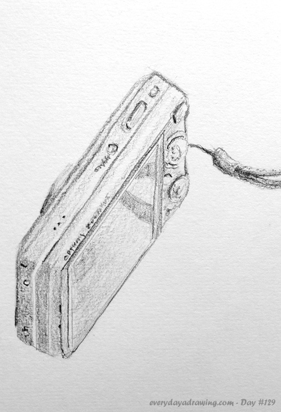 Drawing of my Digital Camera