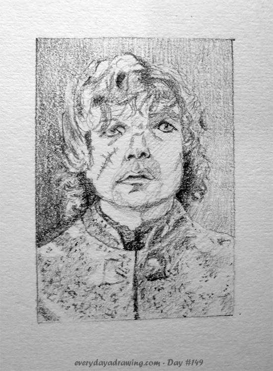 Drawing of Tyrion Lannister