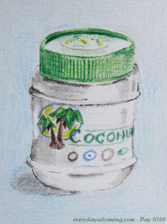 Coconut Oil Drawing