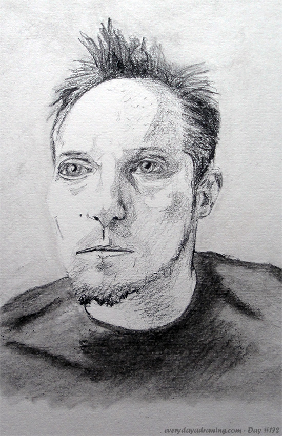 Drawing of Brian Rose