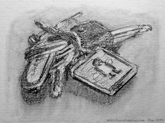 Drawing of Keys