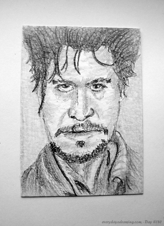 Pencil Drawing of Gary Oldman