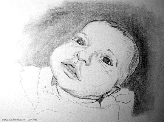 Another drawing of the Maia baby xxx