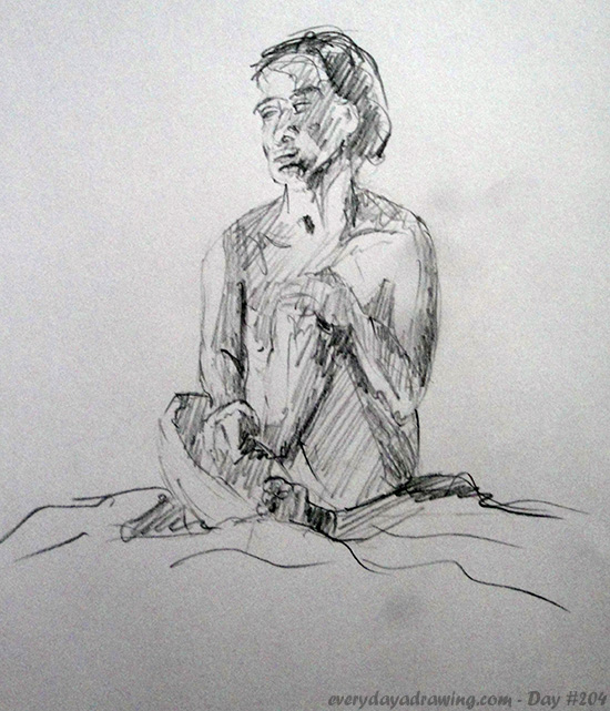 20 minute life drawing