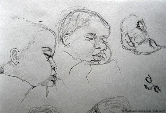 Maia Life Drawings
