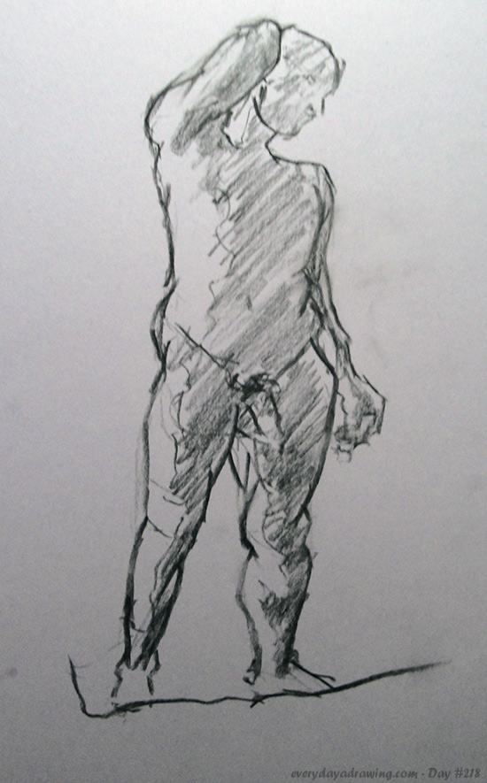 10 Minute Life Drawing Figure