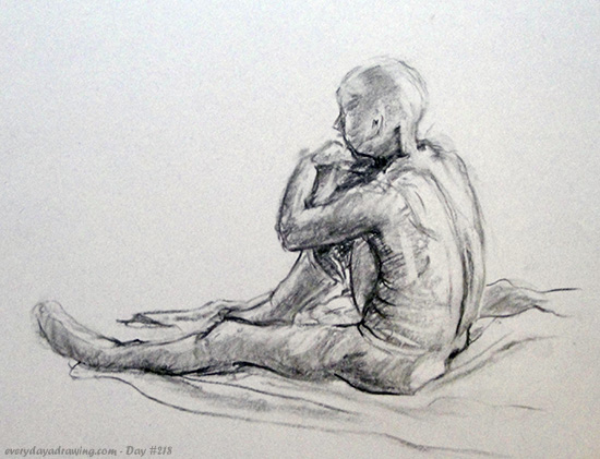 30 Minute Life Drawing Figure
