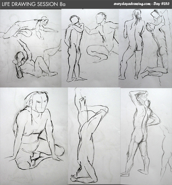 session 8 of my life drawing practice