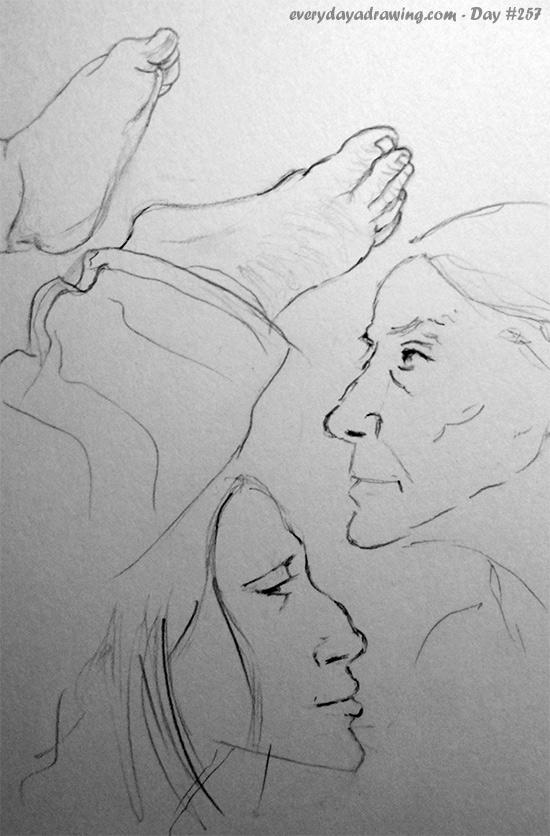 Drawings of profiles