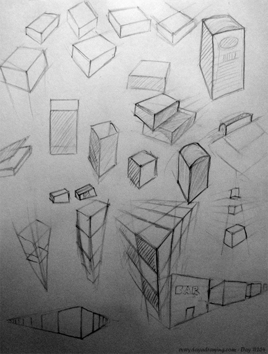 Drawing Cubes