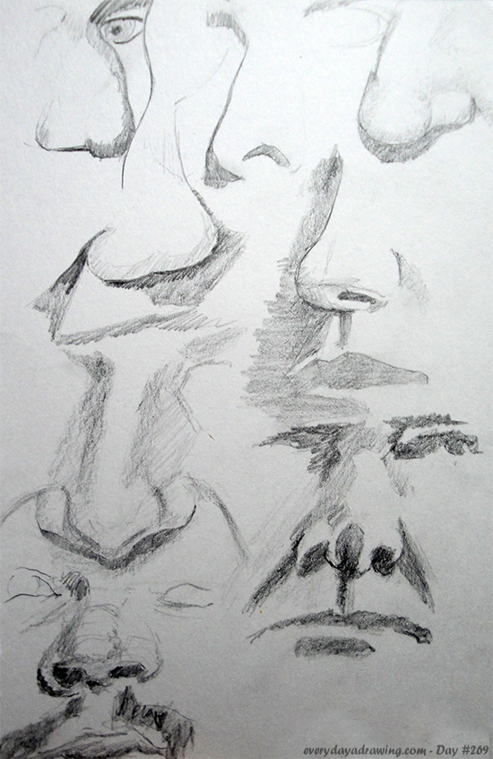 Drawings of noses