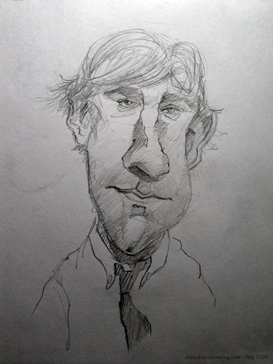 Drawing of John Krasinski