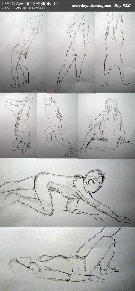 Life Drawing Session 11