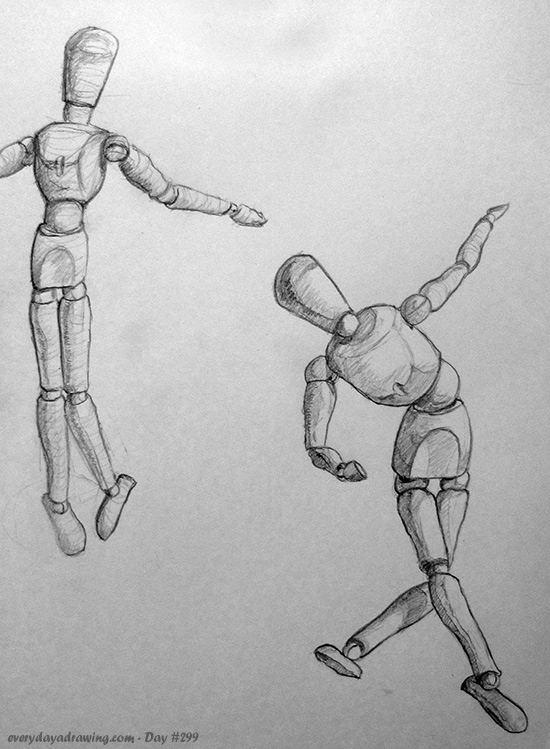 Drawings of Mannequins