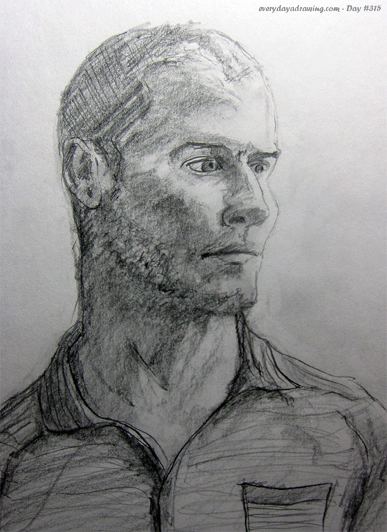Drawing of Tim Ferriss