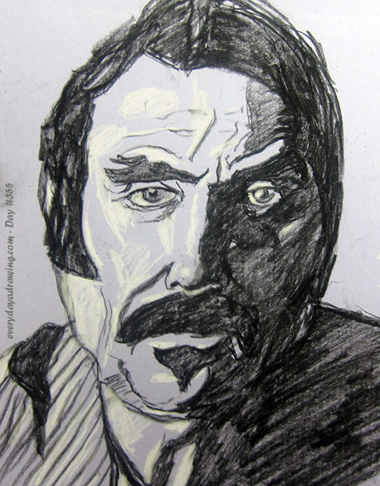 Drawing of Al Swearengen